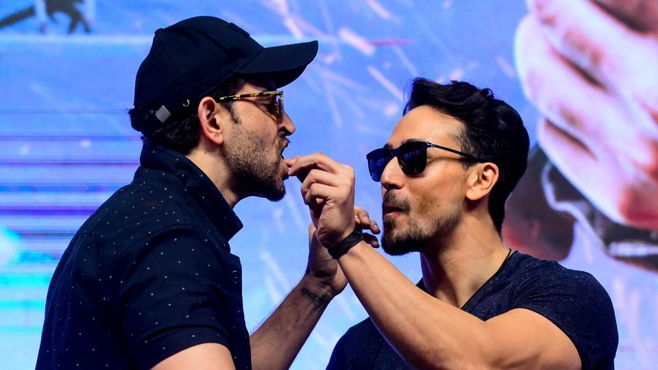 Hrithik Roshan and Tiger Shroff came together for the first time with War.