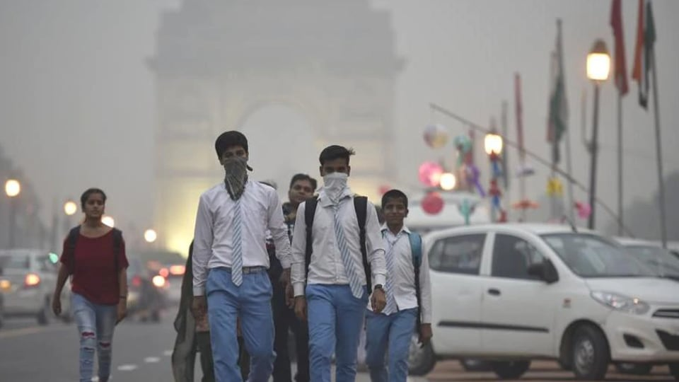 Tackle pollution caused by stubble burning, household biomass burning, power plants, industries, waste burning, transport emmissions, and dust. ((Raj K Raj/HT File Photo)
