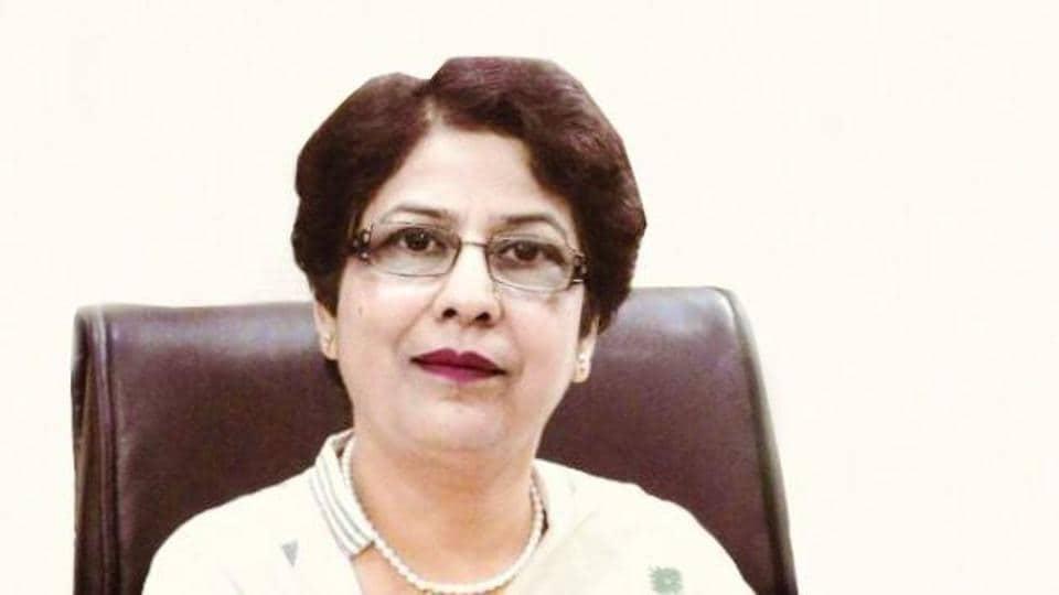 Karuna Verma, principal, Sam International School, Dwarka.