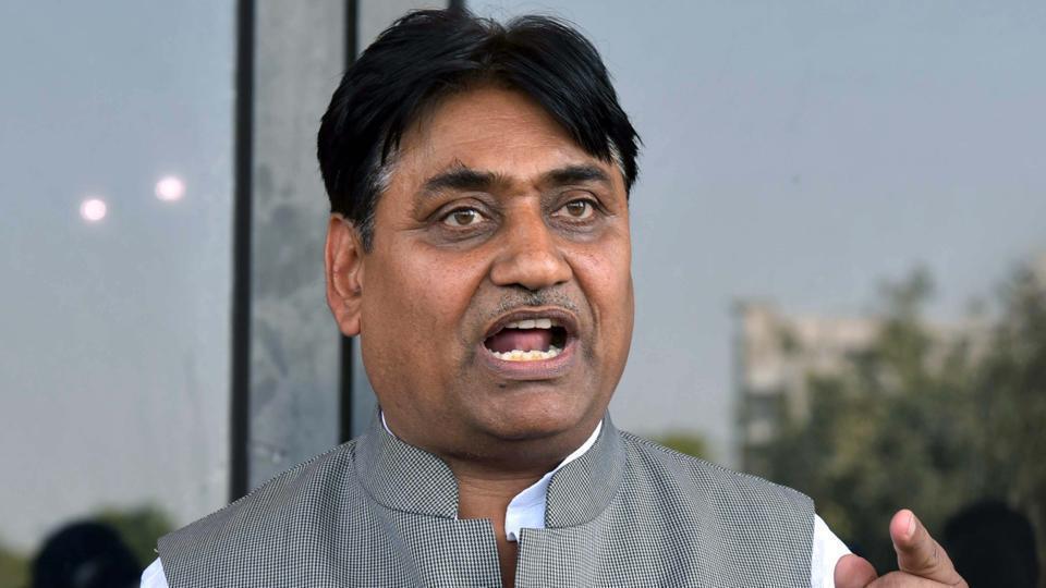 Rajasthan education minister Govind Singh Dotasra.