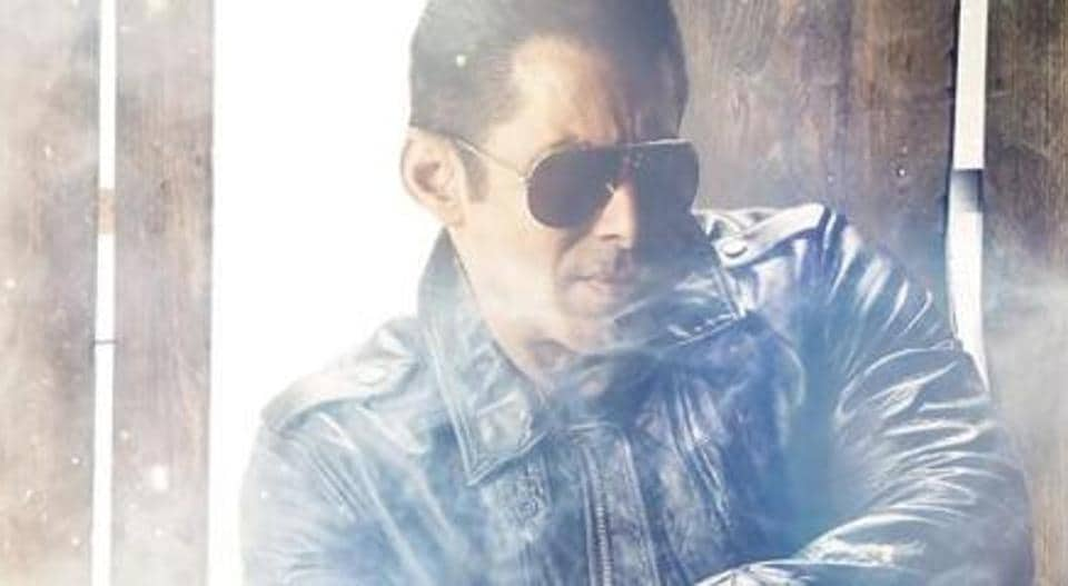 Salman Khan in the first look of Radhe.