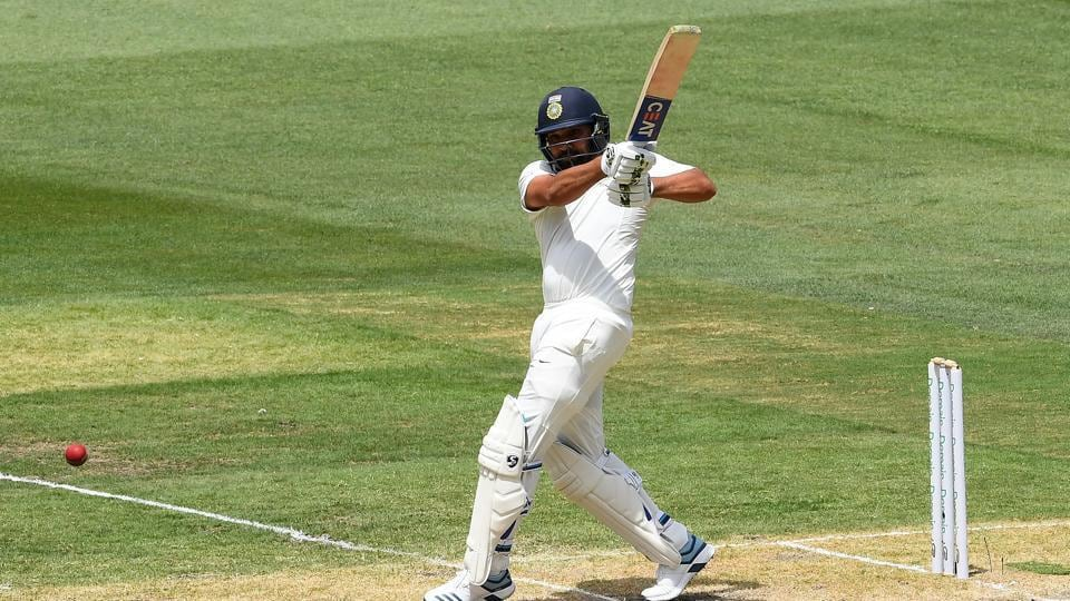 File photo of Rohit Sharma in Test cricket.