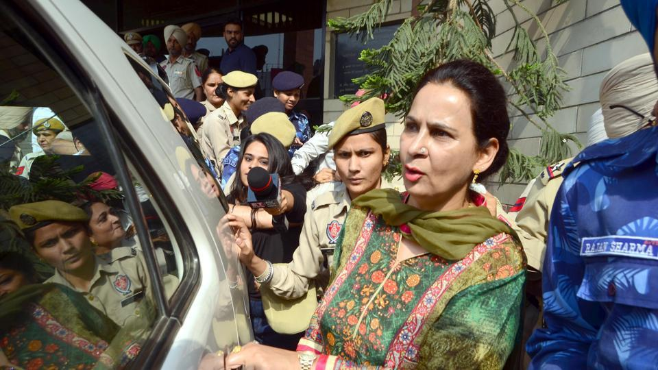 Navjot Kaur had sought Congress ticket from Chandigarh Lok Sabha seat ahead of the May elections.
