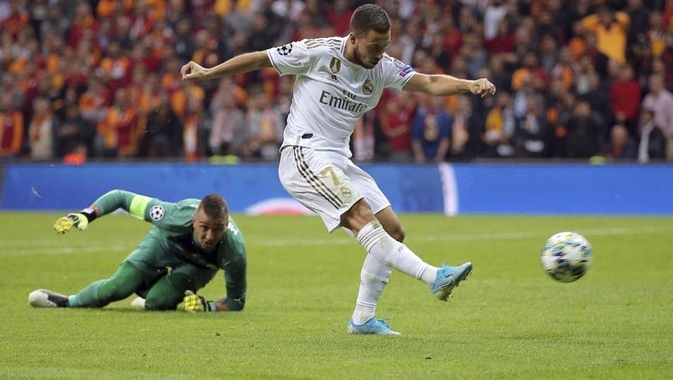 Real Madrid's Eden Hazard)