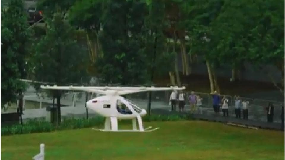 Volocopter makes very less noise.