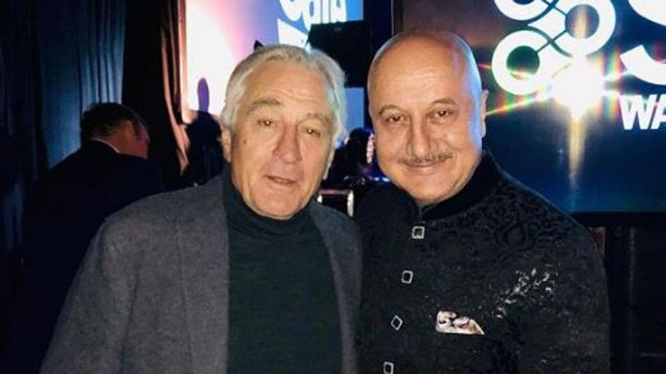 Anupam Kher and Robert De Niro worked together in Silver Linings Playbook.