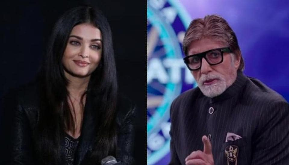 Amitabh Bachchan had a very witty reply for a Kaun Banega Crorepati participant who praised daughter-in-law Aishwarya Rai's eyes on the show.
