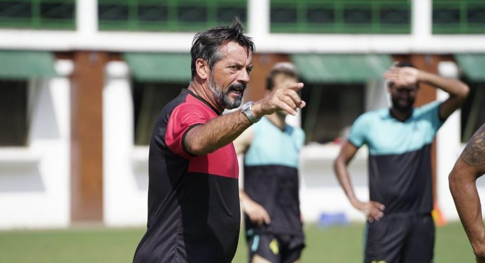 Hyderabad FC coach Phil Brown