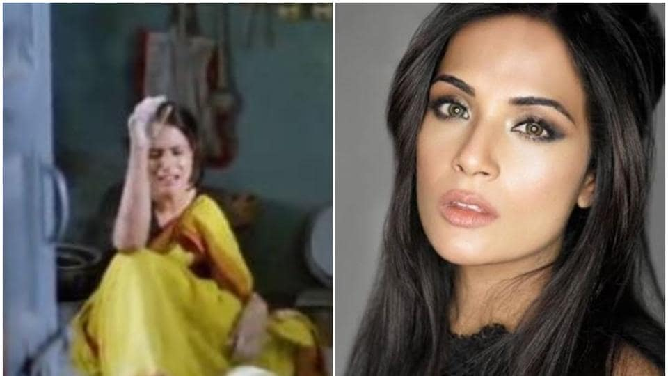 Richa Chadha shared a funny video about Diwali.