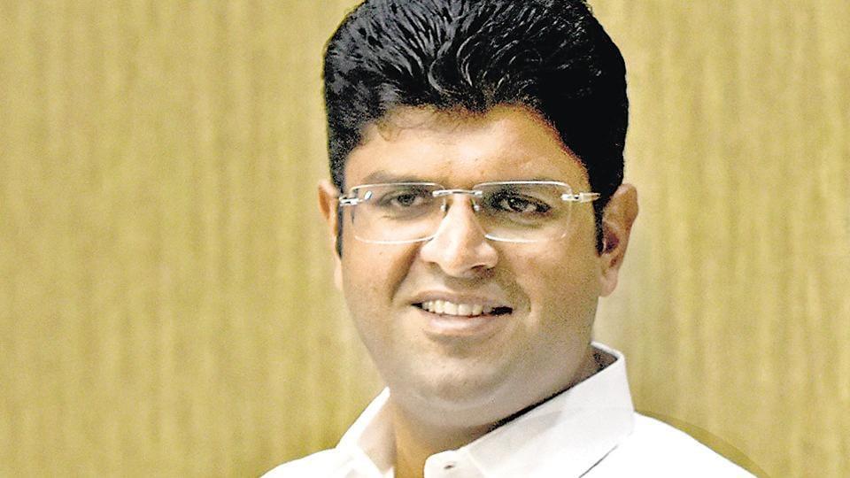 Jannayak Janta Party leader Dushyant Singh Chautala.
