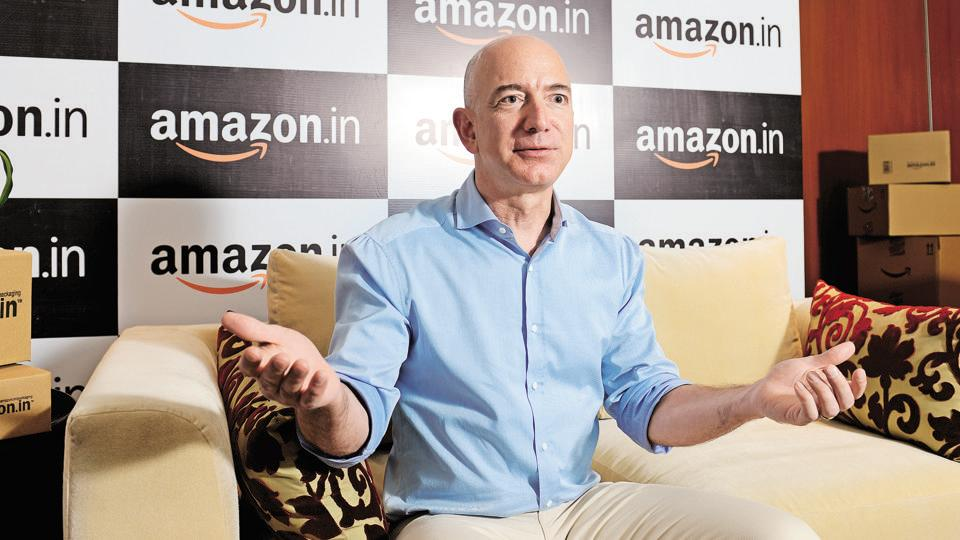 Jeff Bezos is set to lose his crown as world's richest person
