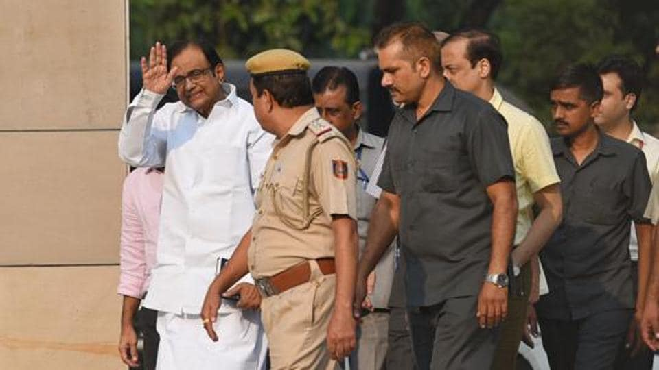 Former Union finance minister P. Chidambaram's bail has been challenged by the CBI in the Supreme Court
