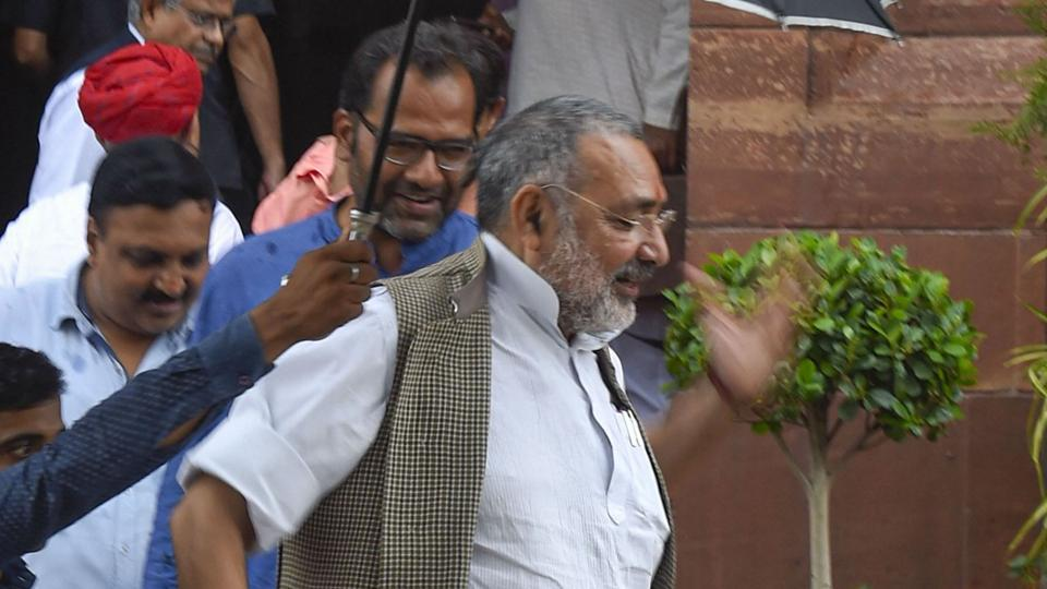 Union Minister Giriraj Singh said AIMIM's win indicates a win for the Jinnah ideology.