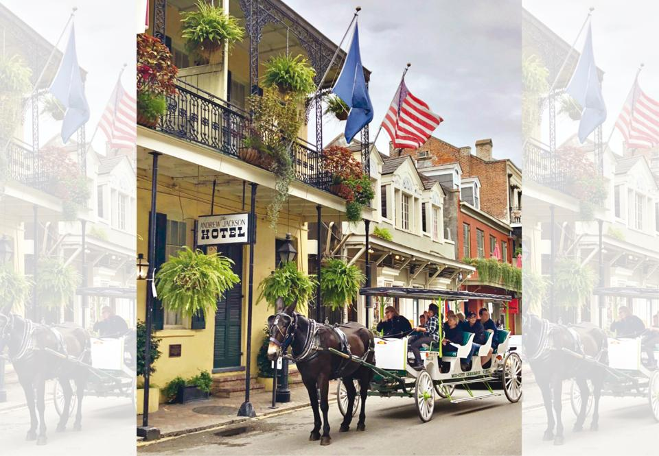 The French Quarter in New Orleans is known to be haunted