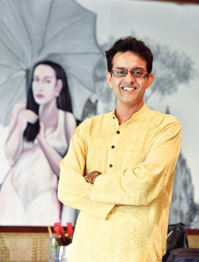 For three years, Vikram Sampath has researched Savarkar's life at archives across India and abroad for his new book; Location courtesy: Viet:Nom
