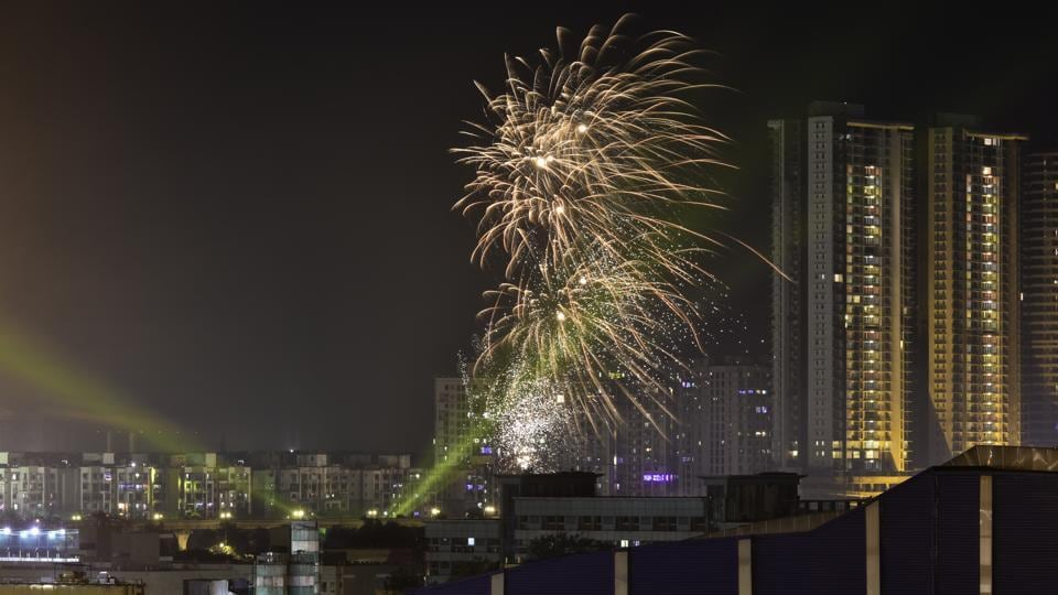 Air quality across the national capital in the run-up to Diwali this year has been much cleaner in comparison to the days preceding the festival since 2016