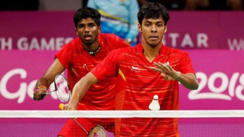 File image of Satwiksairaj Rankireddy and Chirag Shetty