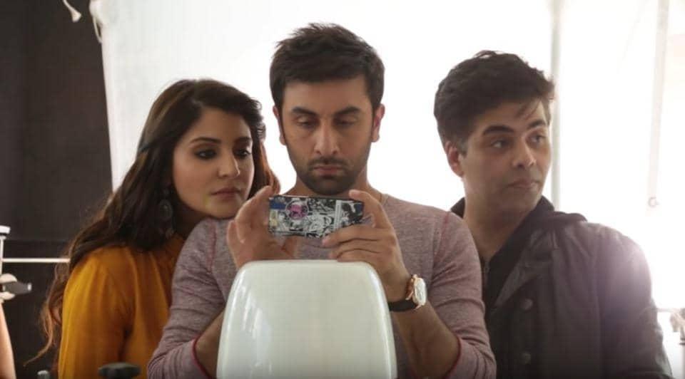 Anushka Sharma and Ranbir Kapoor had the lead roles in Karan Johar's Ae Dil Hai Mushkil.