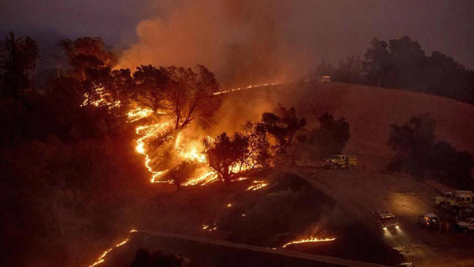 bay area bridge fire