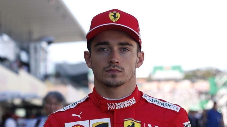 File photo of Ferrari's Charles Leclerc.