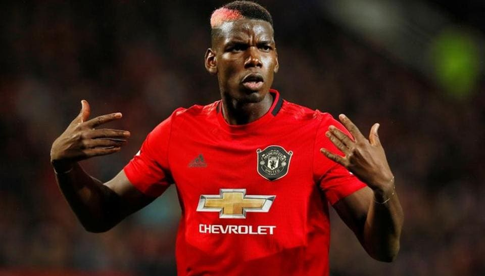Manchester United's Paul Pogba reacts Action Images via Reuters/Jason Cairnduff/Files