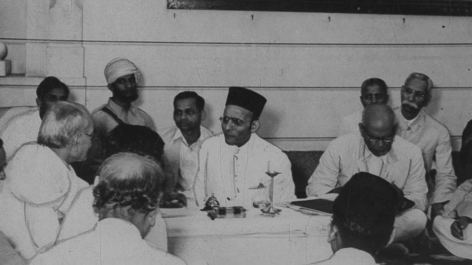 Savarkar was the first political leader to set Independence as India's goal in 1900, which was accepted much later by the Congress in its Lahore session in 1929
