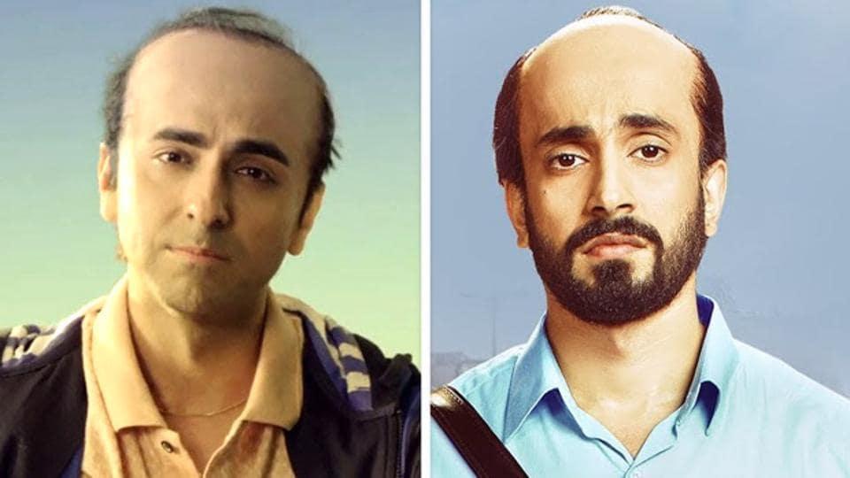 Ayushmann Khurrana and Sunny Singh play prematurely balding men in Bala and Ujda Chaman.