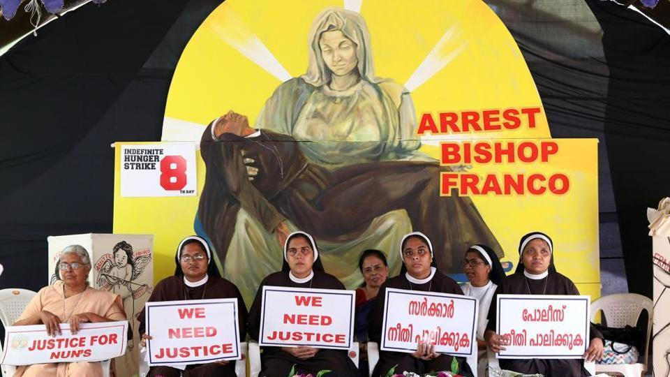 Sister Lucy Kalapura, who supported the protest for the arrest of Jalandhar bishop Franco Mullakkal on sexual assault allegations, had been asked to leave the vocation immediately by the Franciscan Clarist Congregation (FCC) or be defrocked.