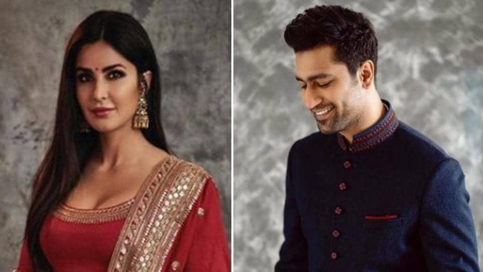 Vicky Kaushal, Katrina Kaif spark off rumours at Diwali party
