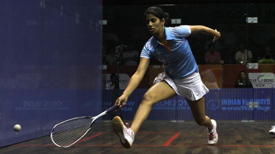 File image of Indian squash player Joshna Chinappa.