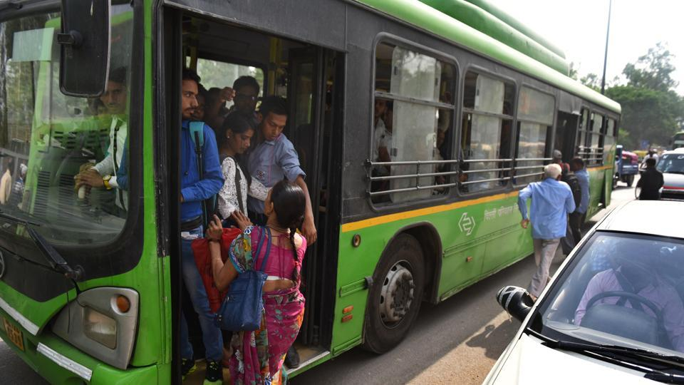 """Women commuting in state-run buses of Delhi will not have to pay for travel any longer with the Aam Aadmi Party (AAP) government launching its """"free-ride"""" scheme from Tuesday."""