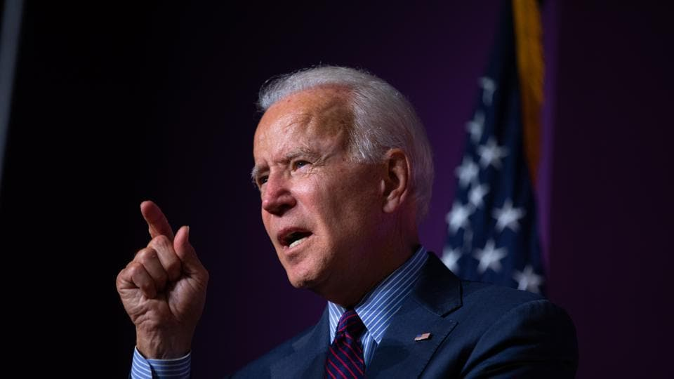 Former U.S. Vice President Joe Biden, is said to have been gaining momentum as  a 2020 Democratic presidential candidate.