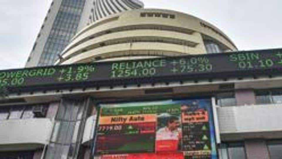 Equity benchmark BSE Sensex jumped over 100 points in early trade on Tuesday led by gains in Tata Motors, RIL and TCS, amid foreign fund inflow.