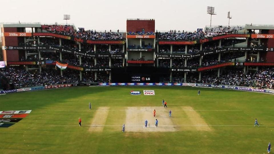 A general view of Arun Jaitley Stadium in New Delhi.