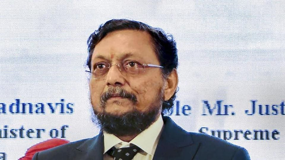 In this Saturday, Aug 17, 2019 file photo Justice Sharad Bobde attends the 17th All India Meet of State Legal Services Authorities, in Nagpur, Maharashtra. Justice Bobde will succeed Justice Ranjan Gogoi as the next Chief Justice of India.
