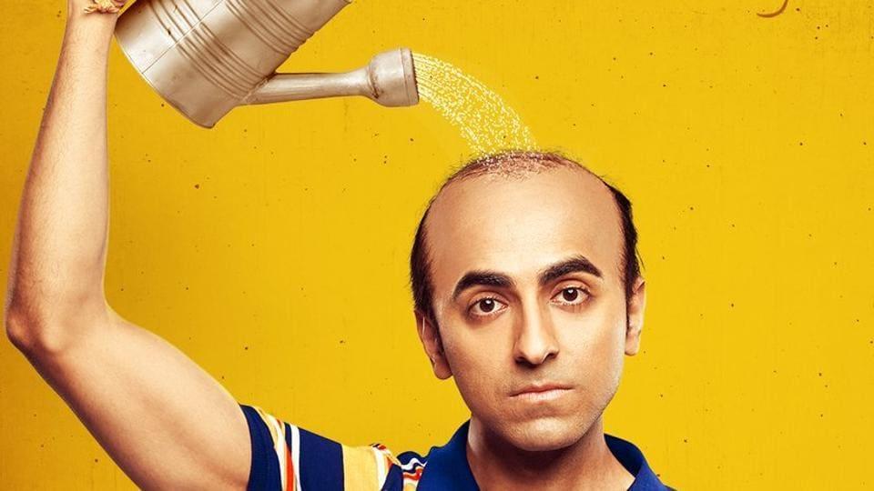 Ayushmann Khurrana plays a balding man in Bala.