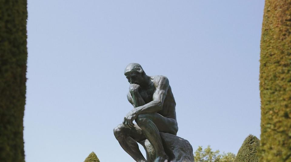 The bronze sculpture, on loan for a year from the Rodin Museum in Paris, is one of the original castings made by Auguste Rodin, sometime between 1881 and 1882.