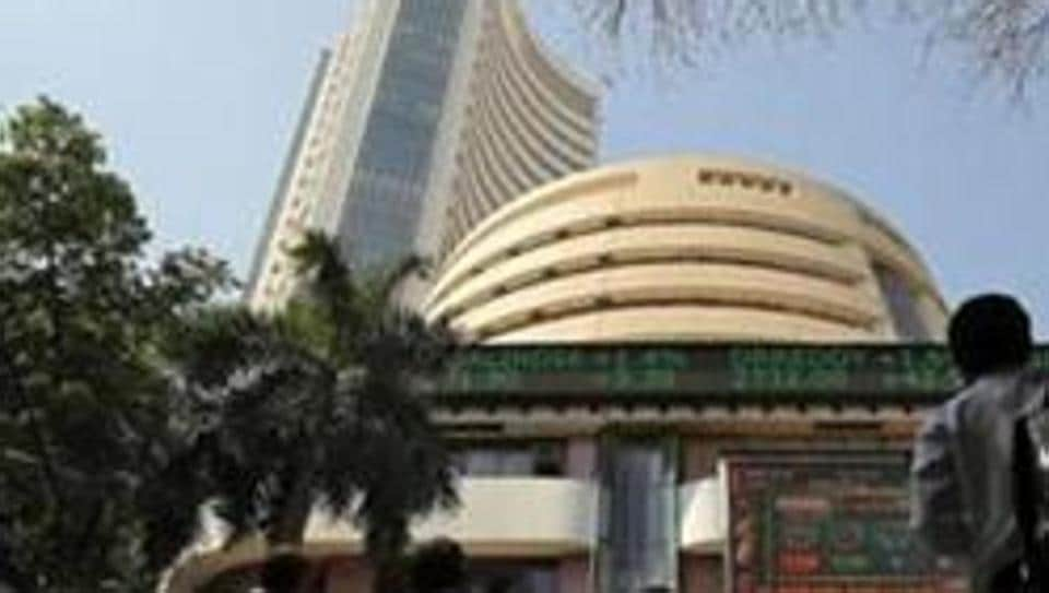 The broader NSE Nifty jumped 57.25 points or 0.49 % to close at 11,844.10.