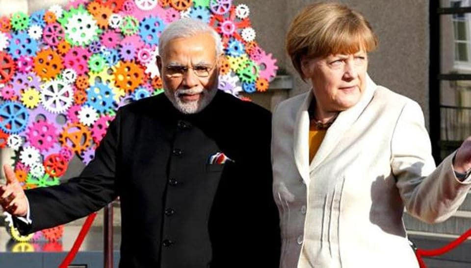 German Chancellor Angela Merkel will arrive in India with a delegation of  12 ministries and hold discussions on various bilateral topics with Prime Minister Narendra Modi.