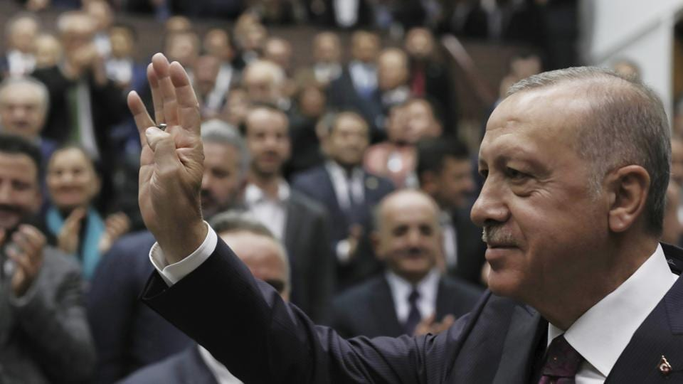 Turkish President Recep Tayyip said Turkey would not hesitate to relaunch its operation if the Syrian Kurdish fighters do not fully evacuate the 30 kilometer (19 mile) area in northeastern Syria or continue attacks against Turkish troops.