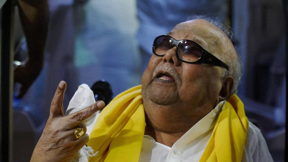 A television series on the life of late DMK patriarch M Karunanidhi will be telecast from Saturday on 'Kalaignar Seithigal TV' channel.