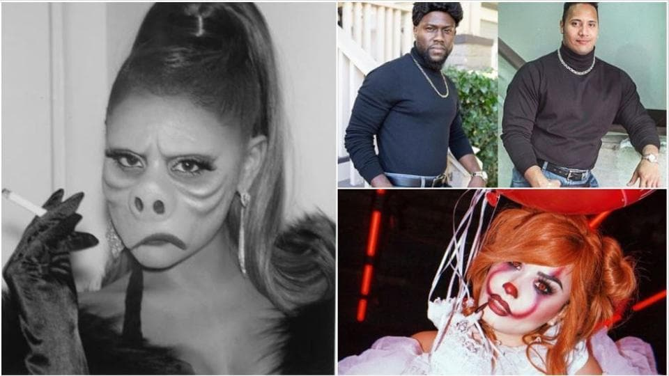 Ariana Grande, Kevin Hart, Demi Lovato celebrated an early Halloween.