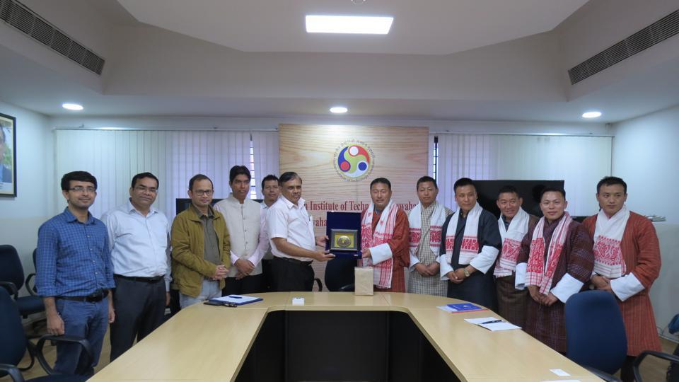 Prof. TG Sitharam, Director, IIT Guwahati with Tshering Wangdi, President, Sherubtse College, Royal University of Bhutan.