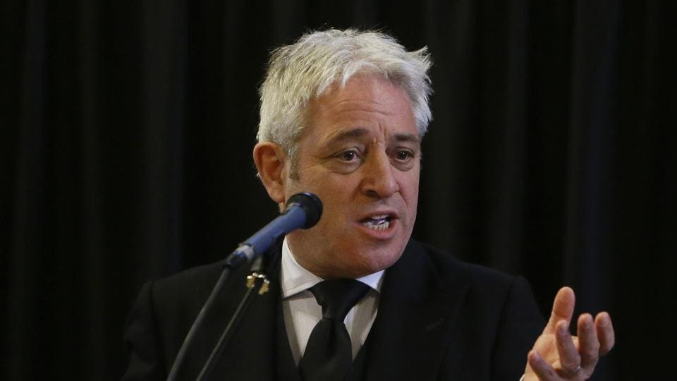 John Bercow stepped down on Thursday after 10 years as speaker of Britain's House of Commons