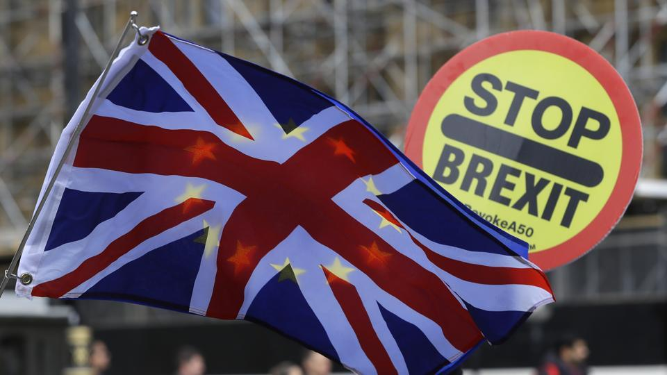"""The survey of 2,001 individuals was carried out in the first two weeks of October, a period that saw heightened uncertainty as Prime Minister Boris Johnson attempted to agree a departure agreement with the European Union and the Bank of England warned of """"material risks"""" of economic disruption in the event of a no-deal Brexit."""