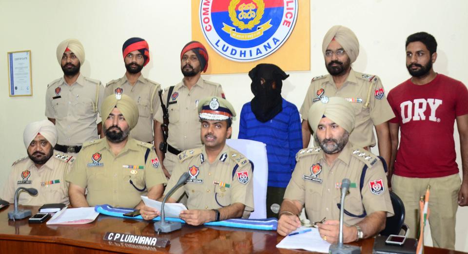 The accused in police custody in Ludhiana on Thursday