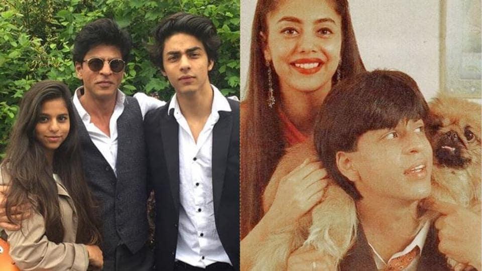 Shah Rukh Khan is a doting dad to three kids and a loving husband to Gauri Khan.