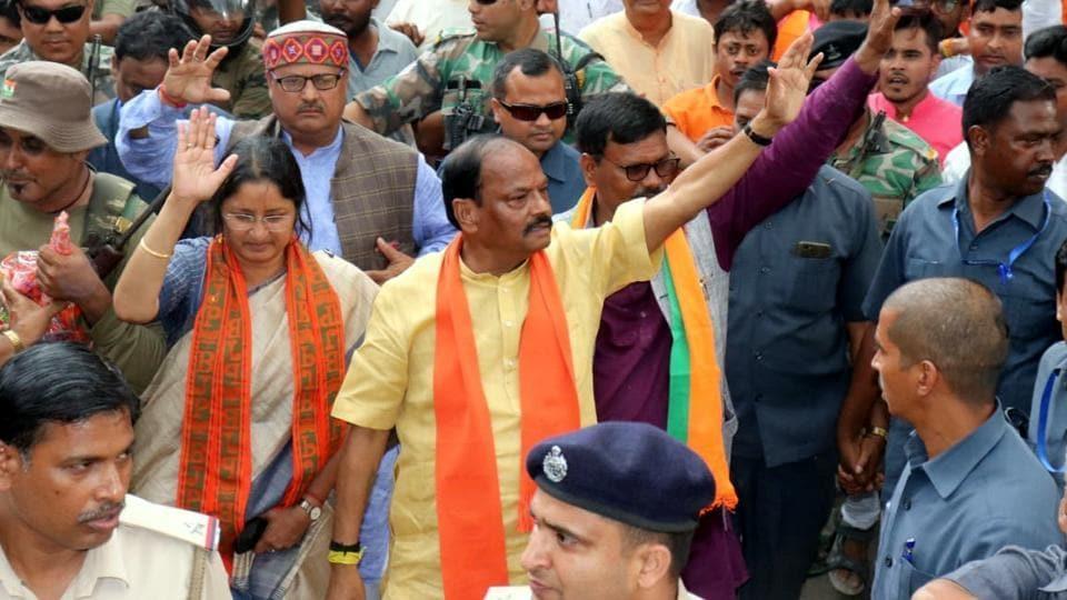 Chief minister Raghubar Das took out a