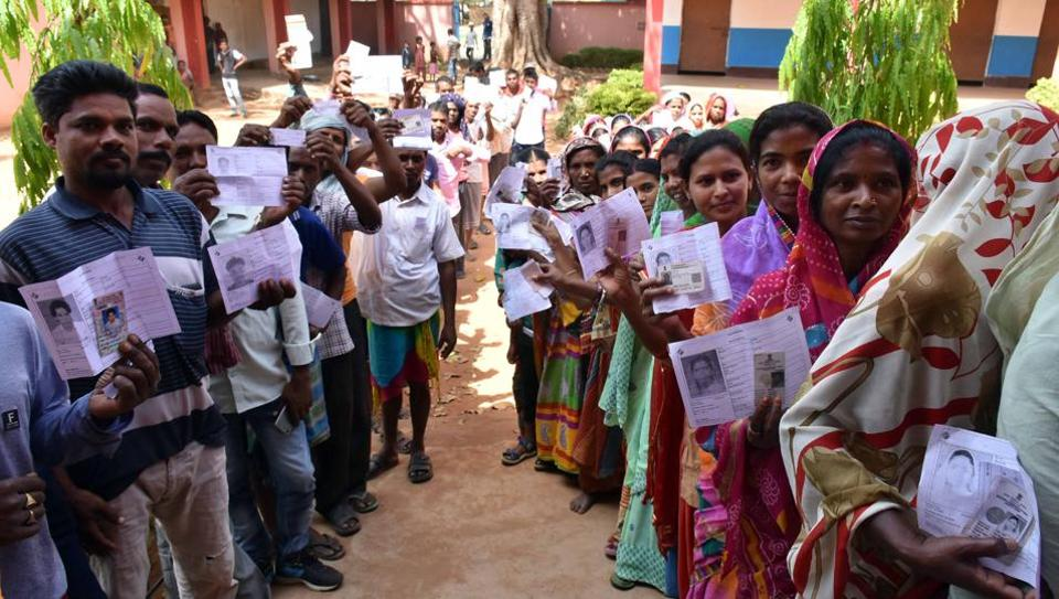 Image result for jharkhand vote