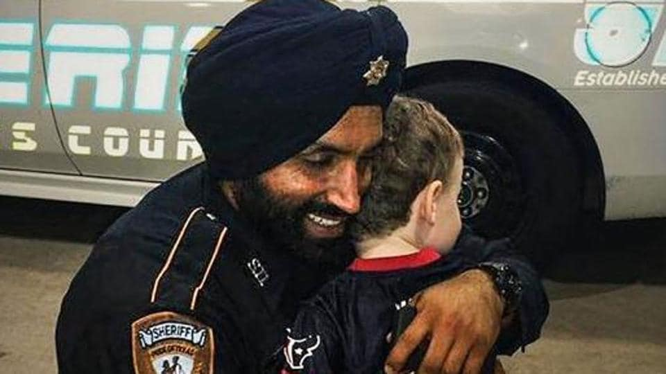 He was the first Sikh in Texas to receive a policy accommodation to practice his religion while serving as a police officer.